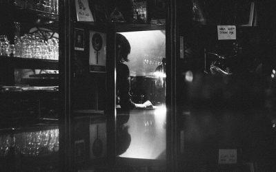 Corner of the Second Floor Bar